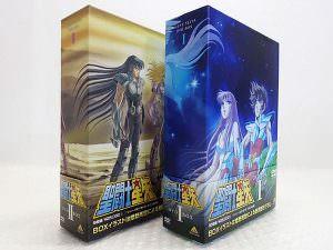 聖闘士星矢 DVD-BOX I & IIセット 買取