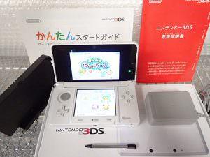 ニンテンドー3DS ピュアホワイト 買取