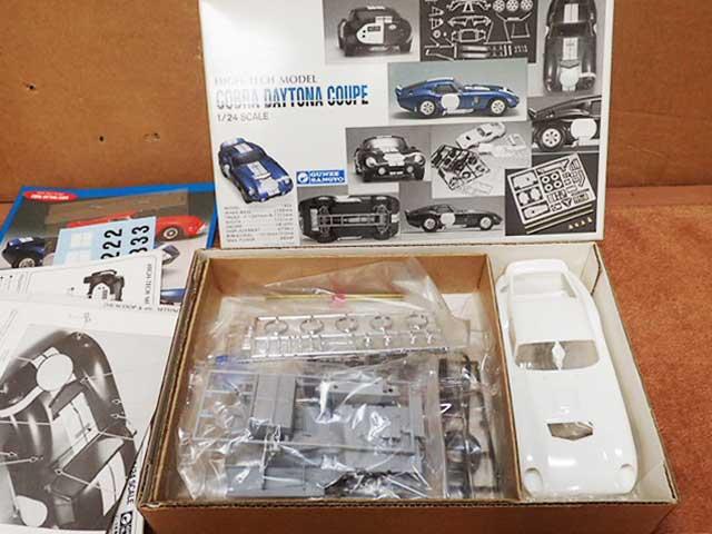 組立式ミニカー 1/24 コブラ デイトナ クーペ ハイテックモデル 初版1