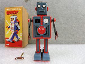 ブリキ ロボット メカニカルロボット 箱付き 買取