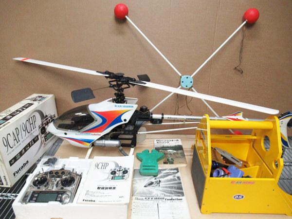 飛行機ラジコン シャトル スカディ エボリュ-ション 組立済1