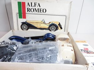 Pocher 車ラジコン d'italia ALFA ROMEO アルファロメオ 18 SCALE SPIDER TOURING GRAN SPORT 1932 買取