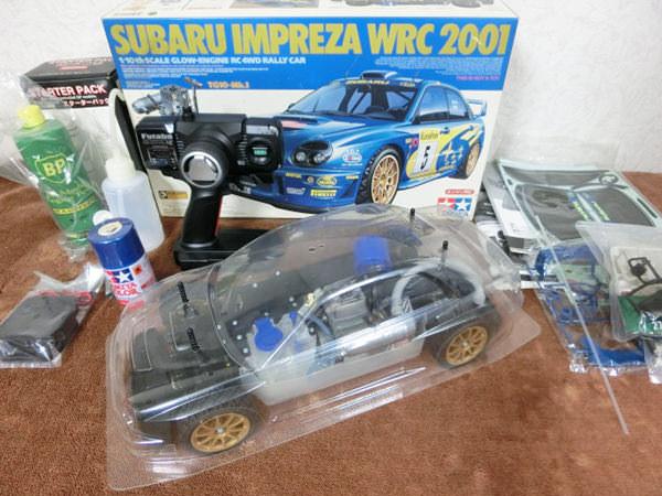 スバル インプレッサ 1/10 WRC2001 ラジコン1