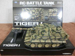 東京マルイ 戦車ラジコン 1/24 RC バトルタンク タイガーI 初期型 戦車 買取
