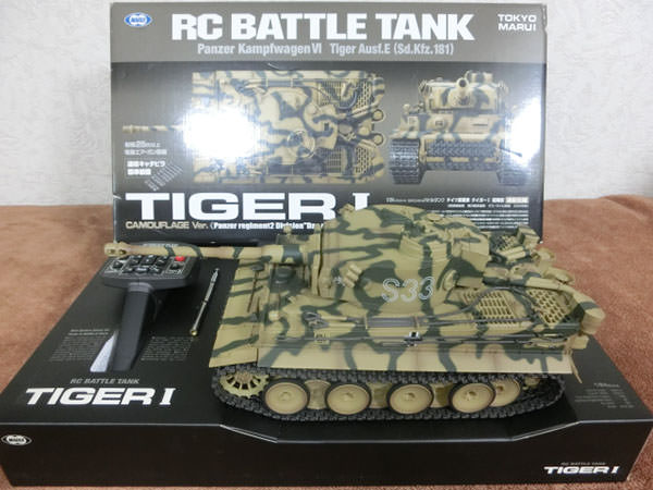 1/24 RC バトルタンク タイガーI 初期型 戦車1