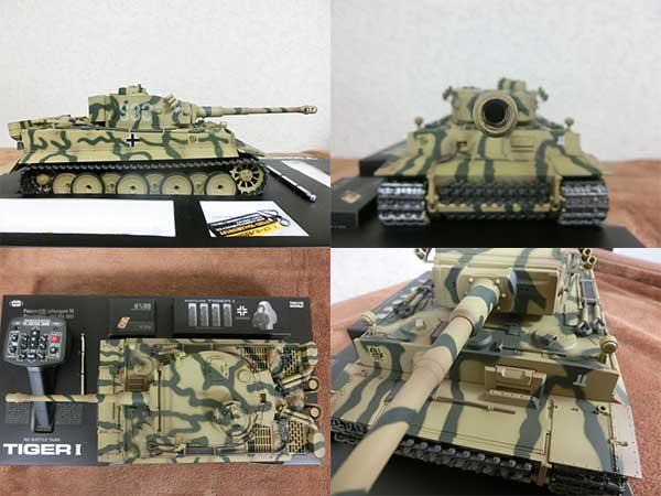 1/24 RC バトルタンク タイガーI 初期型 戦車2