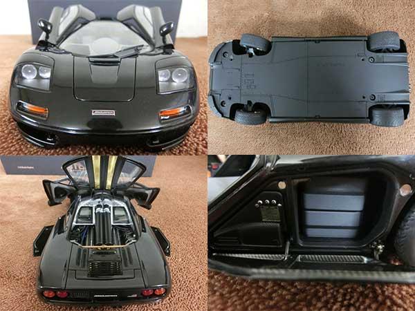 1/18 マクラーレン F1 JET BLACK METALLIC3