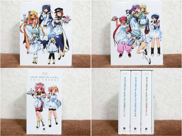 ギャラクシーエンジェル フルコース Blu-ray BOX 限定版 収納BOX付き2
