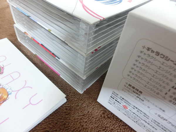 ギャラクシーエンジェル フルコース Blu-ray BOX 限定版 収納BOX付き3