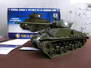 FRANKLIN MINT フランクリンミント M4A3 SHERMAN TANK ミニカー
