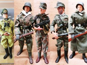 GIジョー ドイツ兵 ミリタリーフィギュア ヴィンテージフィギュア 5体セット