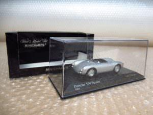 MINICHAMPS ミニチャンプス ミニカー Porsche 550A Spyder ポルシェ