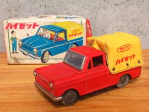 ダイハツ ハイゼット 自動車 ブリキ  レトロ 玩具 箱付き