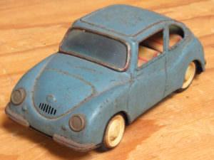 当時物 ブリキ 自動車 SUBARU スバル てんとう虫 昭和 レトロ 玩具