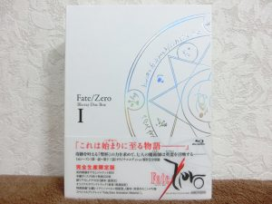 Blu-ray BOX Fate/Zero Blu-ray Disc Box 1 完全生産限定版 買取